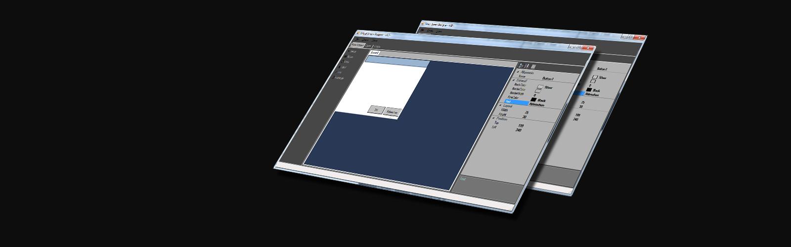 Visual Screen Designer